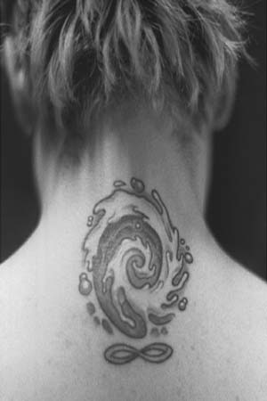 Gregor's 'Infinity Whirlpool' Tattoo by Kim Saigh